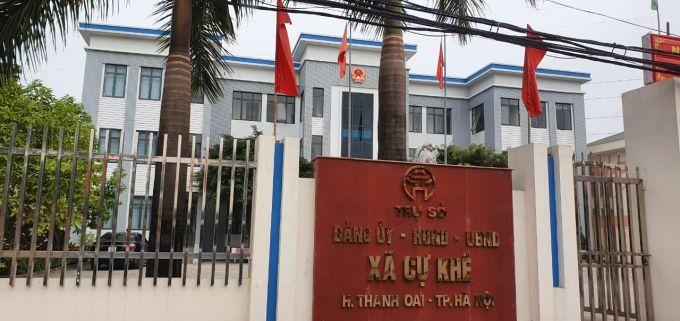 """UBND huyện Thanh Oai thành lập Tổ kiểm tra nghi vấn """"bảo kê"""" chợ nông sản hoạt động trái phép có thu phế tiểu thương?"""