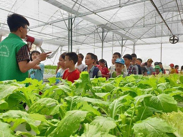 Du lịch nông nghiệp tạo thêm sức sống cho ngoại thành Hà Nội
