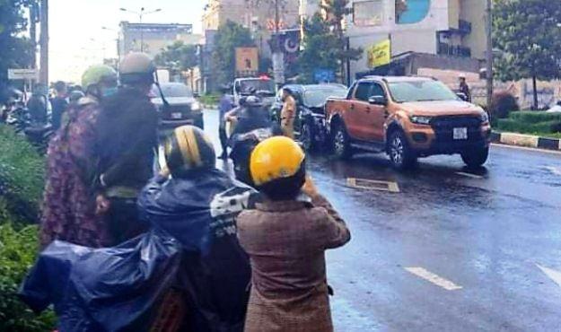 Gia Lai: Truy đuổi bằng ô tô, nổ súng bắn nhau như phim hành động