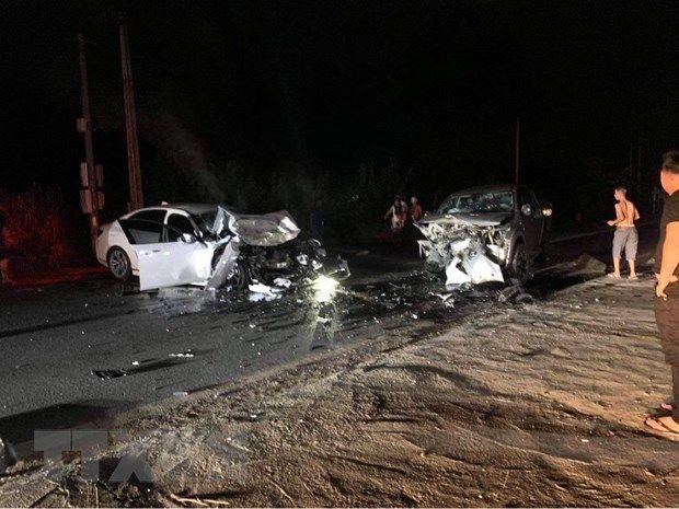 Hà Giang: Hai xe ôtô đâm trực diện khiến 3 người thương vong