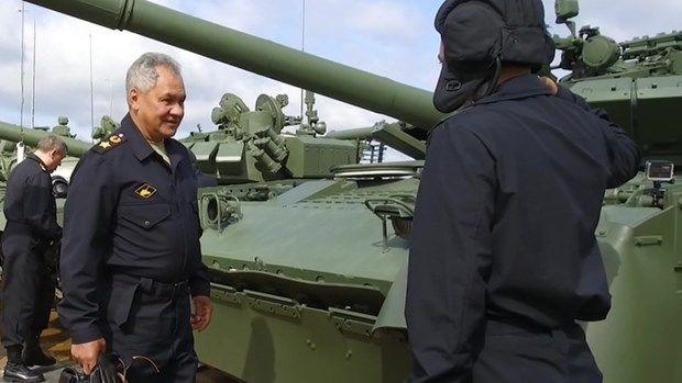 Lễ Khai mạc Diễn dàn Army 2021 và Army Games 2021 tại Nga