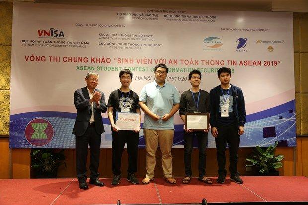 180 đội tham gia cuộc thi sinh viên với an toàn thông tin ASEAN 2021