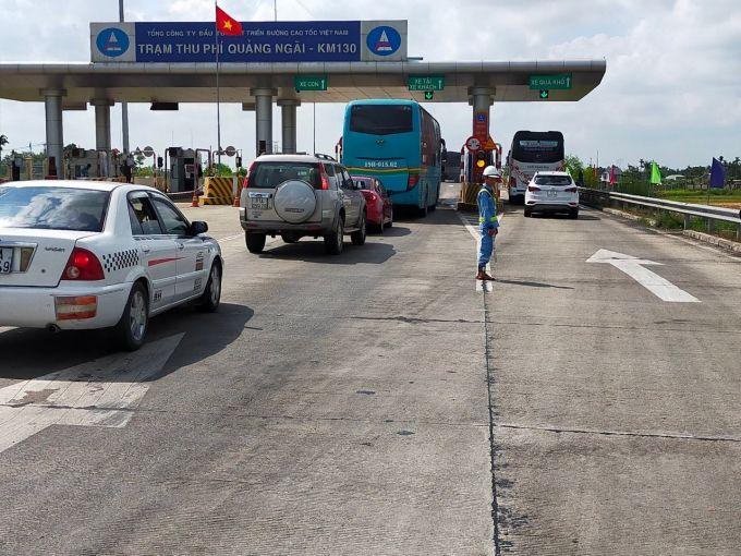 Thu phí trở lại tuyến cao tốc Đà Nẵng - Quảng Ngãi