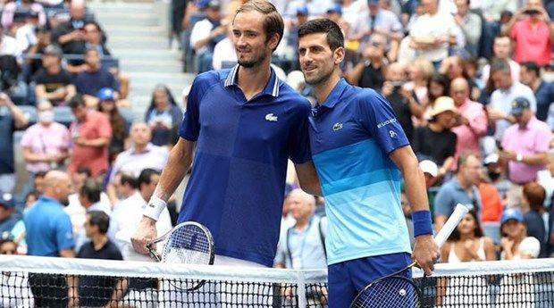 Cận cảnh Medvedev đánh bại Djokovic để lên ngôi tại US Open 2021