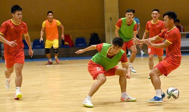 Lịch trực tiếp: Tuyển Futsal Việt Nam đối đầu 'kỷ lục gia' Brazil