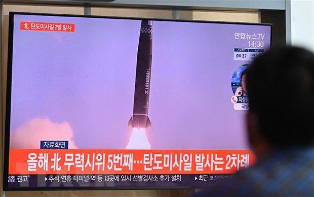 Vụ phóng của Triều Tiên: Giới chức Mỹ, Nhật Bản và Hàn Quốc điện đàm