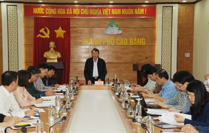 Cao Bằng: Chủ tịch UBND tỉnh trực tiếp đi kiểm tra công tác chuẩn bị bầu cử
