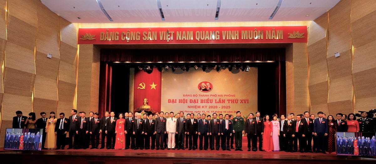 Ông Lê Văn Thành tái đắc cử Bí thư Thành uỷ Hải Phòng