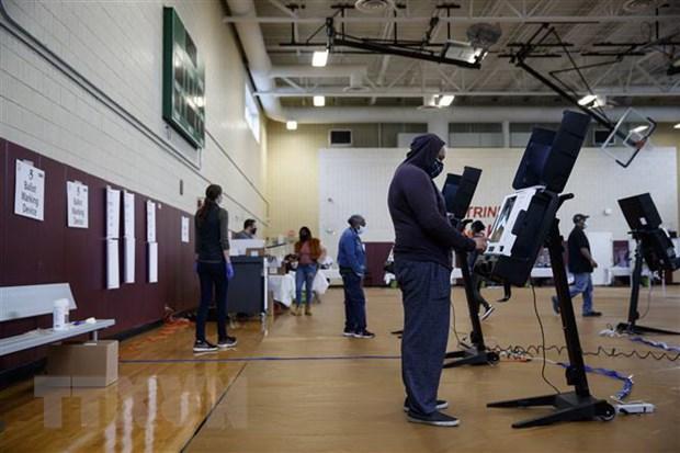 Bầu cử Mỹ 2020: Số cử tri đi bỏ phiếu sớm vượt 80 triệu ngườ