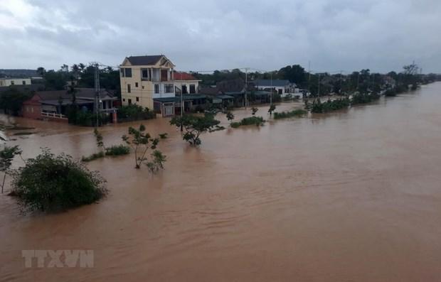 Quốc lộ các tỉnh miền Trung thiệt hại nặng nề do bão Molave