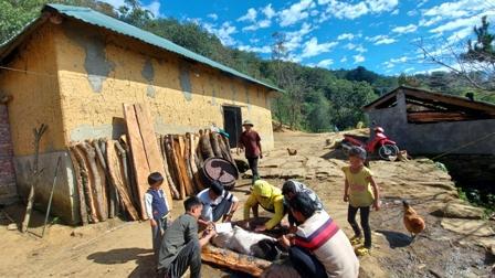 Lào Cai: Người Hà Nhì vui Tết cổ truyền Ga Tho Tho